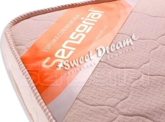 Pillow Desmontable Sensorial Viscoelastico C/memoria 140x190