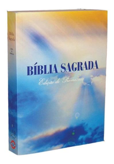 1 Biblia Sagrada Pequena Brochura Edição De Promessas Rc