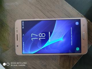 Celular Samsung J7 Metal Dourado