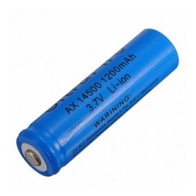 Bateria Recarregavel 14500 3.7~4.2v Li-ion