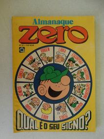 Almanaque Zero Nº 10! Rge Jan-fev 1982!