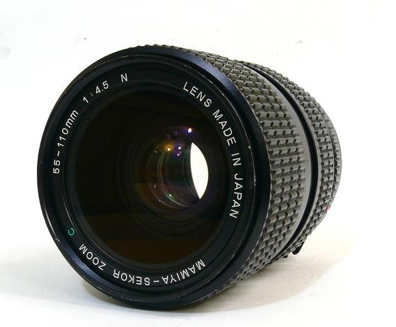 Objetiva Mamiya -sekor Zoom 55-110mm 1:4.5