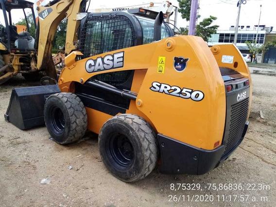 Minicargador Case Sr250, Mod:2013