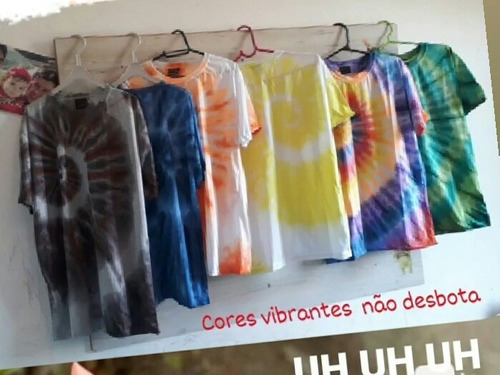 Imagem 1 de 1 de Camisetas Tie Dye