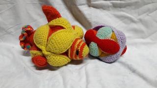 Pelotas Montesori (puzzle) Para Bebe Tejida A Crochet