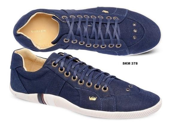 Tênis Masculino Osk Riva Lona Jeans | Sapatênis