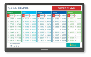 Sistema Resultados En Vivo Tablero Cartel Agencias Quiniela