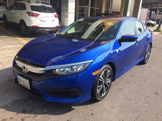 Dm Honda Civic 1.5 Turbo Cvt 2017 Color Azul