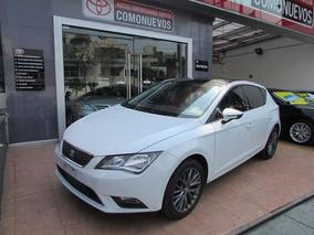 Seat Leon 5p Style L4 1.4 T Aut Blanco 2015