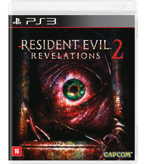 Resident Evil Revelations 2 Ps3 Novo Lacrado Mídia Física