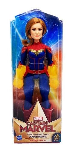 Imagem 1 de 4 de Nova Boneca Filme Capitã Marvel Vingadores Cósmica Hasbro