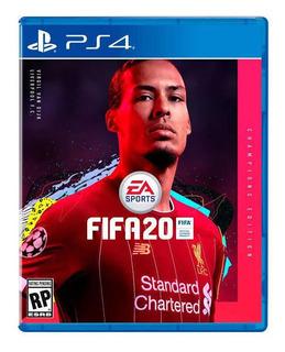 Fifa 20 Ps4 Champions Edition 2020 Full Stock Ya!