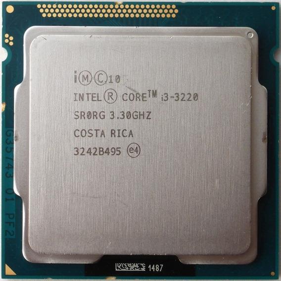 Processador Intel Core I3 3220 Lixo Ruim Sucata