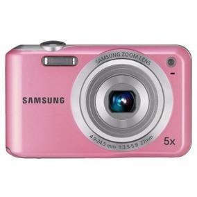 Câmera Digital Samsung Es65 Rosa Completa 10.2 Mpx Zoom 5x