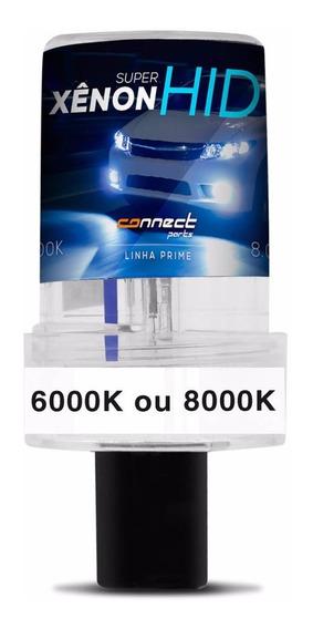 Lampada Xenon Reposição 6000k 8000k H1 H3 H4 H7 H11 Hb3 Hb4
