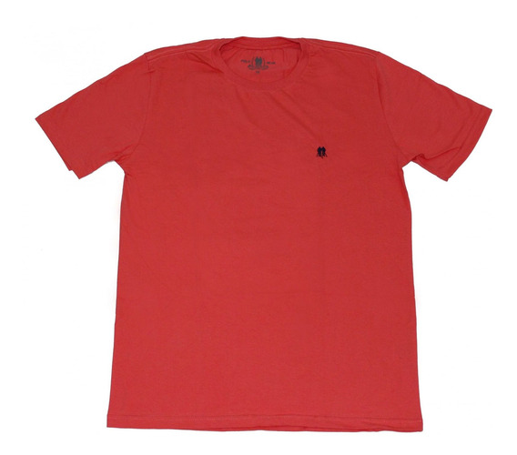 Camiseta Básica Polo Wear Gola Redonda Vermelha 000043912
