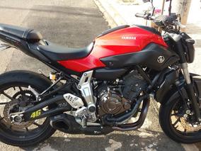 Yamaha Mt 07 Vermelha 2016