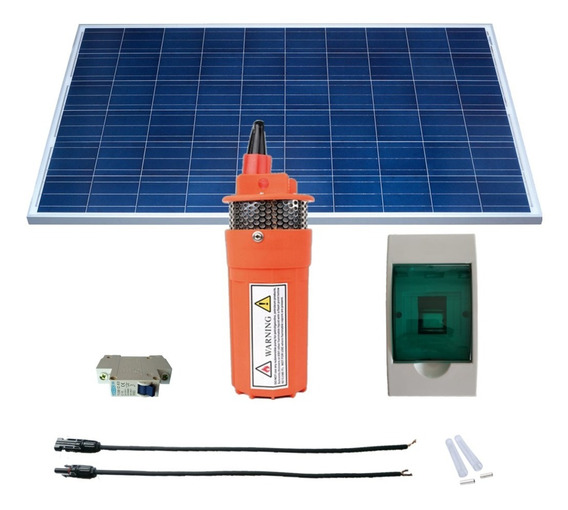 Kit De Panel Solar 150w + Bomba Solar Sumergible 6 Lpm
