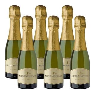 Champagne Nieto Senetiner Brut Nature 187cc X 6 Botellas