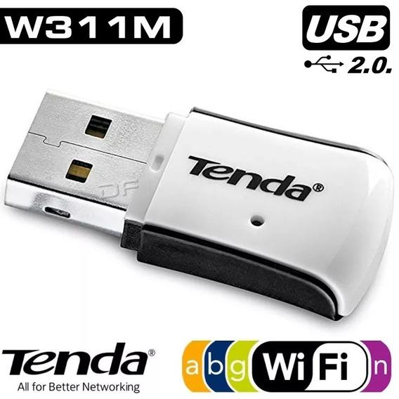Placa De Red Wi-fi 150mbps Usb Tenda W311m Garantia