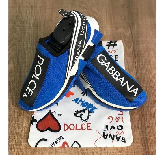 Tênis Dolce & Gabbana Masculino Promoção Frete Grátis Novo