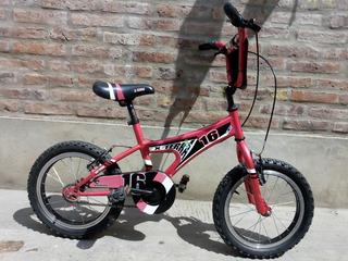 Bicicleta X-terra Rodado 16