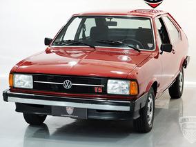 Passat Ts 1981 81 Original - Placa Preta Quadrado - Ls Gl