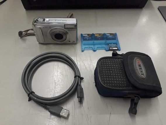 Fujifilm Finepix Uma Série A700 7.3mp Câmera Digital-prata