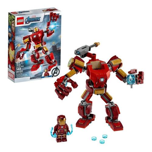 Lego Marvel 76140 Los Vengadores, Iron Man Mech En Stock