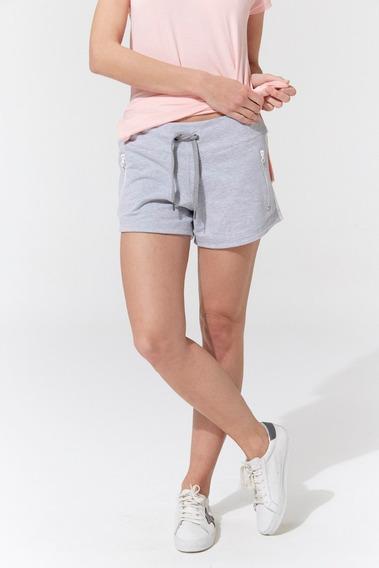 Short Pantalón Corto Cierre Tira Costado Bonjour Lulu 5244