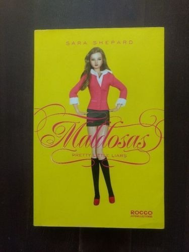 Livro Pretty Little Liars Vol. 1 - Maldosas Sara Shepard