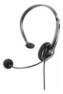 Headset Vincha Auricular Con Microfono Para Cabezal Telefonico Elgin