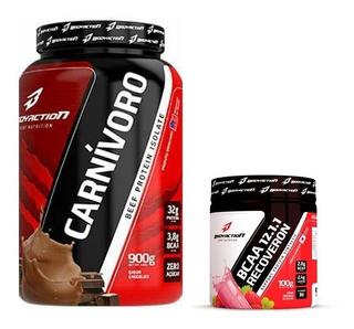 Carnívoro Beef + Bcaa 100g - Bodyaction - Salvador-ba