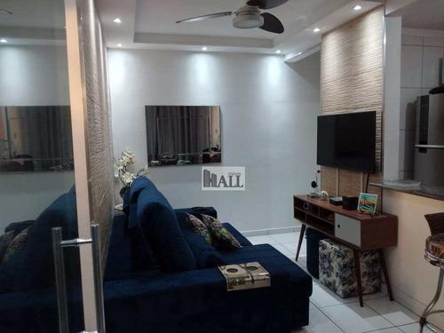 Apartamento À Venda No Residencial Macedo Teles I Com 2 Quartos - V7848