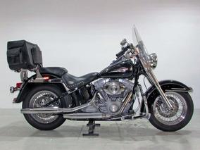 Harley Davidson - Softail Heritage Classic - 2008 Preta