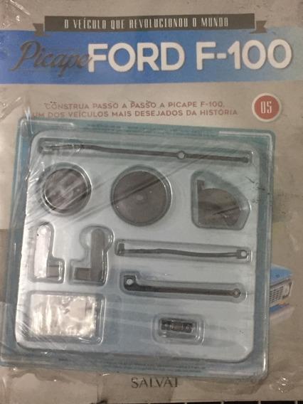 Fascículo Coleção Salvat Picape Ford F100 F-100 Número 05