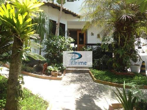 Casa Com 3 Dormitórios À Venda, 250 M² Por R$ 750.000,00 - Maravista - Niterói/rj - Ca0352