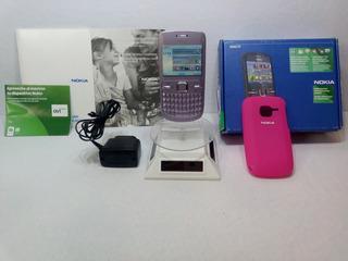 Nokia C3 Movistar Lila