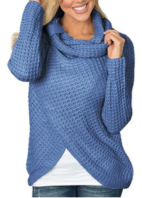 Sueter Casual Elegante De Punto Mujer Dama Sweaters
