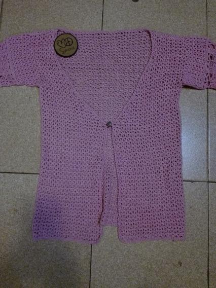Hermoso Saquito Tejido Al Crochet, Talle Único, Nuevo!!!!