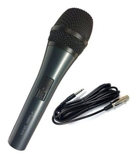 Micrófono Parquer 835 Dinámico Cardioide Para Voz Con Cable