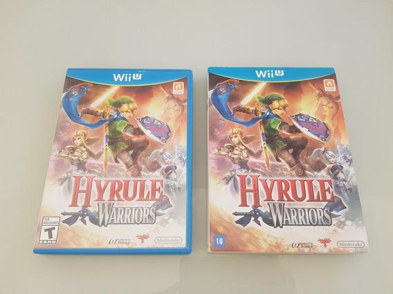 Hyrule Warriors Nintendo Wii U Original Com Berço Frete 15