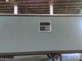 Caseta Movil Remolque Camper Oficina Wc 8x24 Pies Para 6