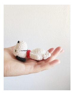 Mini Snoopy Crochet
