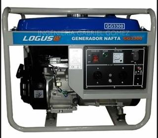 Generador Grupo Electrogeno Logus Gl 3300 Premium