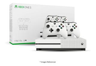 Consola Xbox One S 1tb I Dos Controlador Inalámbrico Xbox