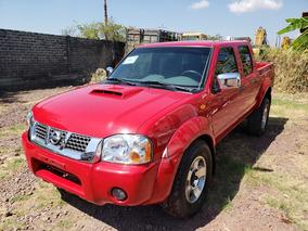 Nissan Np300 2.5 Diesel Doble Cabina 4x4 Mt 2014
