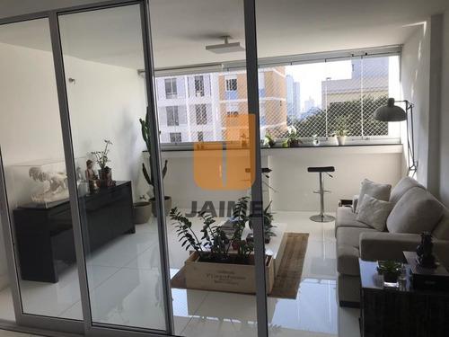 Apartamento Completamente Reformado, Piso De Taco Nos Quartos E Nanoglass Branco Na Sala. - Ja16071