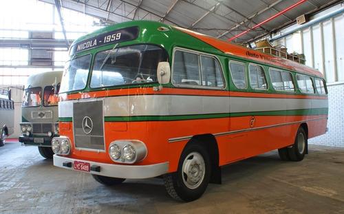 Ônibus Mercedes Benz 1959 Para Colecionador
