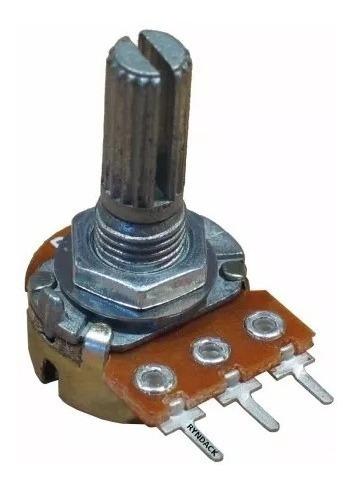 Potenciômetro Wh148-1 - L15/l20 Kit Com 100 Peças 1k